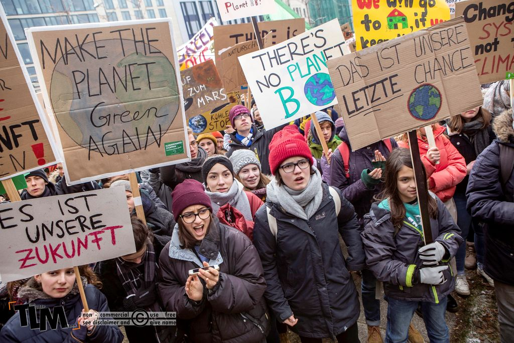 20.000 streikende elever ventet til storstilt klimaprotest
