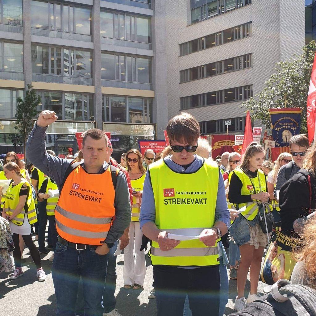 – Selv om streiken er avblåst er ikke kampen over, sier skuffet streikeleder