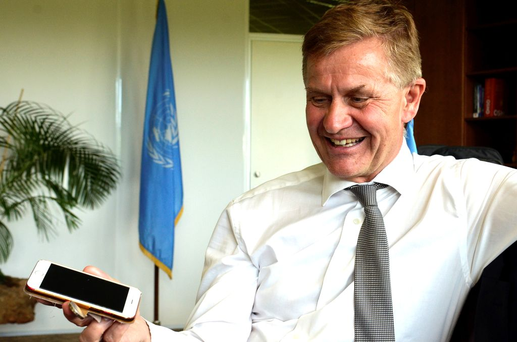 Tidligere SV-leder Erik Solheim melder seg inn i MDG