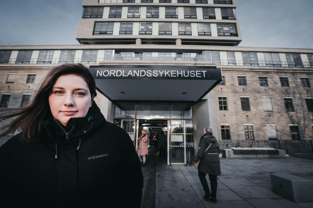 Jobbet i en 16,4 prosent stilling: Nå får også Emelie Johanne (23) pensjon for jobben hun gjør