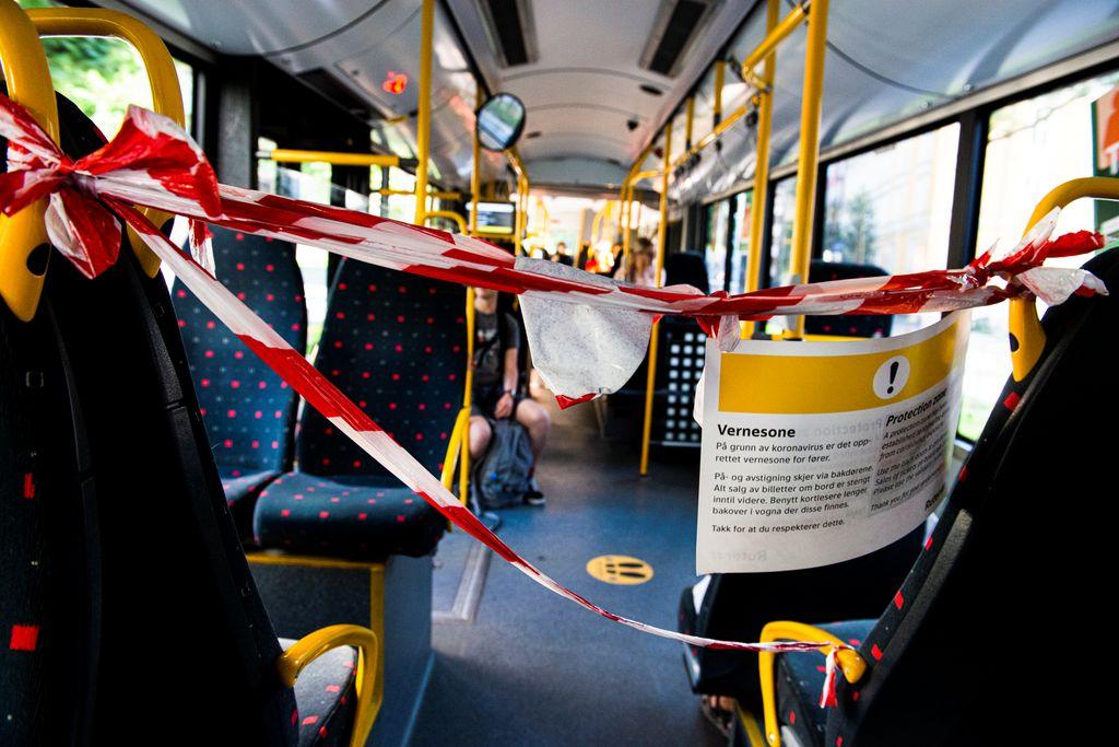 3800 bussjåfører i streik. Lammer Østlandet