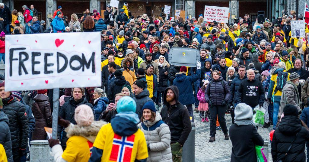 Faktisk.no: Nei, man får ikke sparken av Bergen kommune for å demonstrere mot koronatiltak